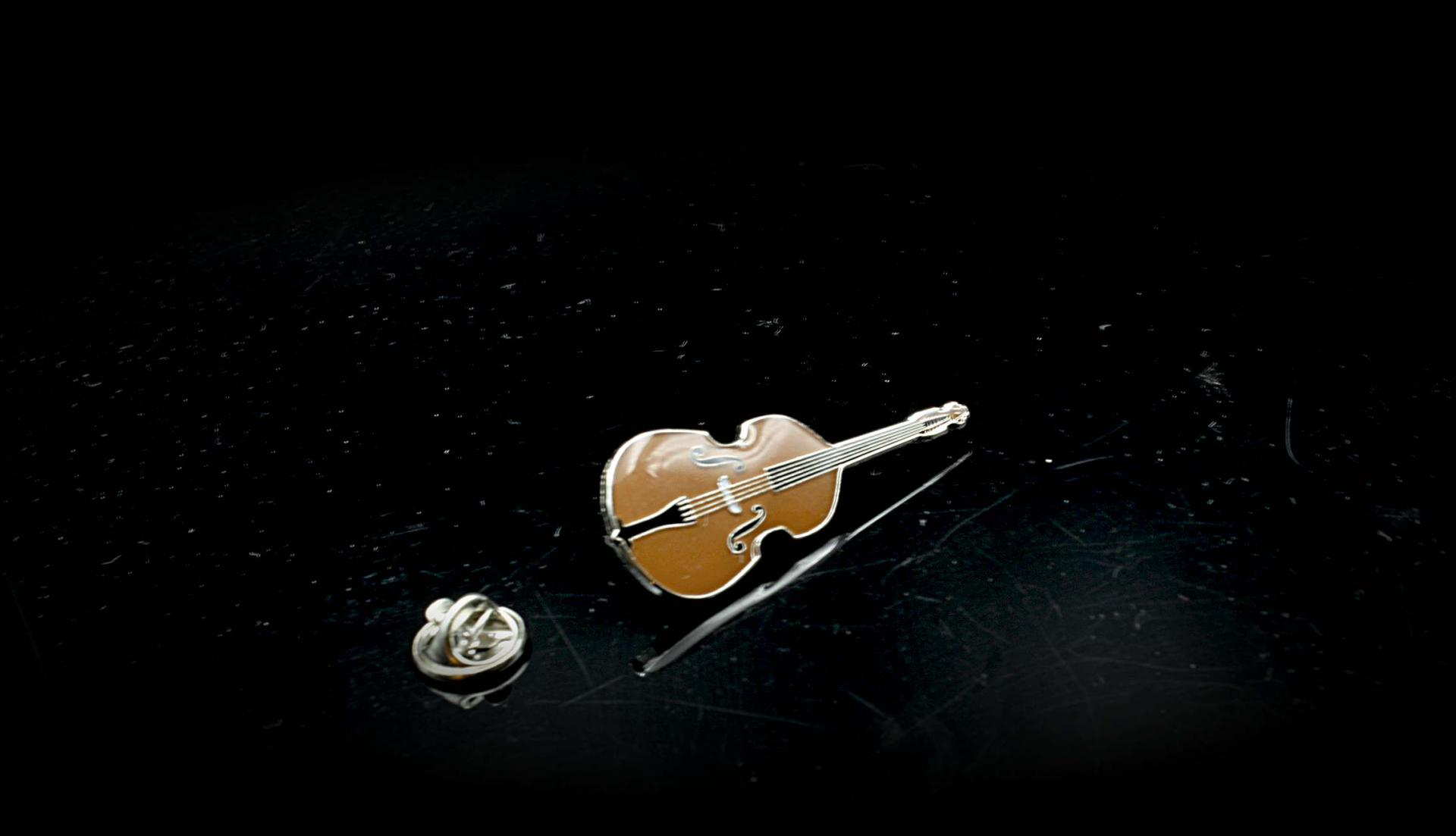 Double Bass (Contrabass) Pin Badge