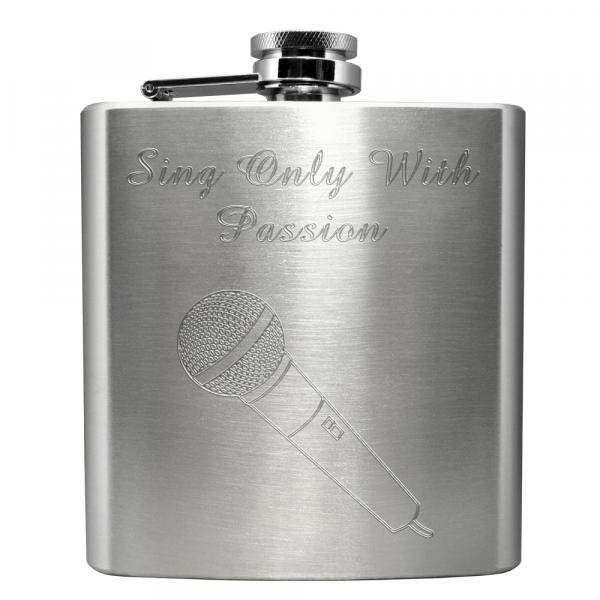 HIP FLASKS With Choice Of Microphones