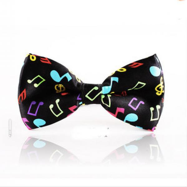 Musical Note Bow Tie - Colourful & Funky!