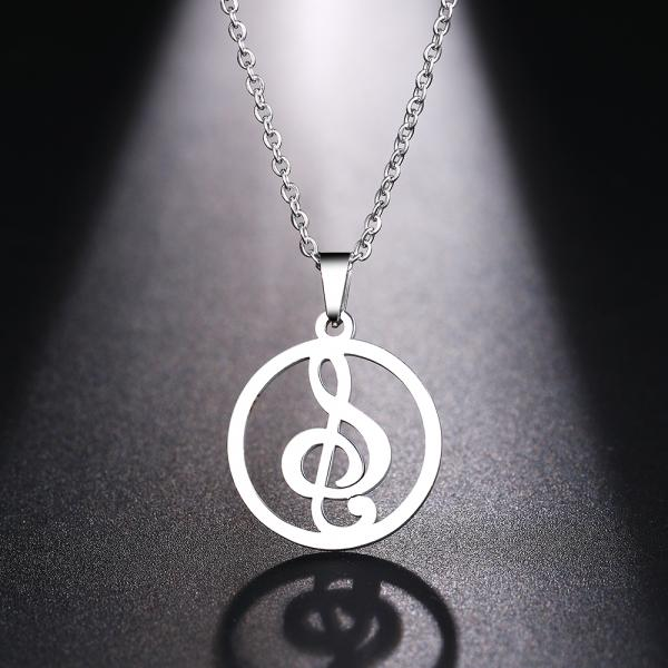 Music jewellery pendant from Chrissie C