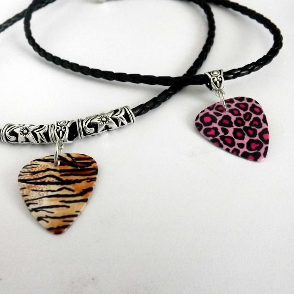 Leopard and Tiger Print Choker Necklaces - Customisable