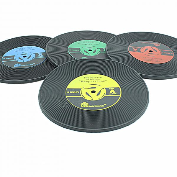 CD Record Drinks Coaster /Coffee Mat