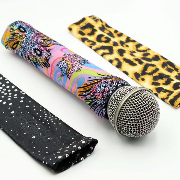 Microphone Covers -3 Stunning Designs