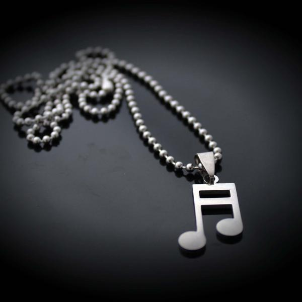 Chrissie C Music themed necklace