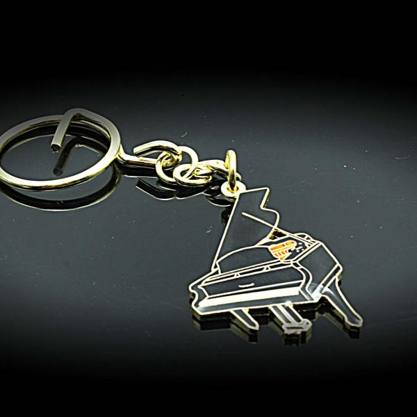 Grand Piano Keychain / Keyring