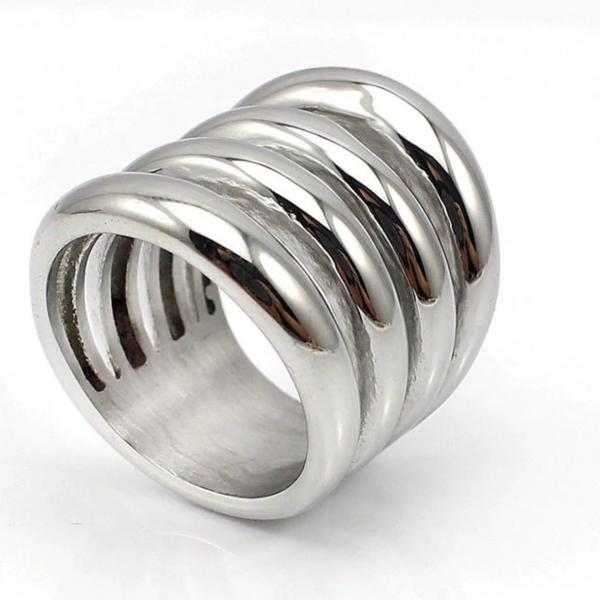 Wide Party Punk Rings for Women