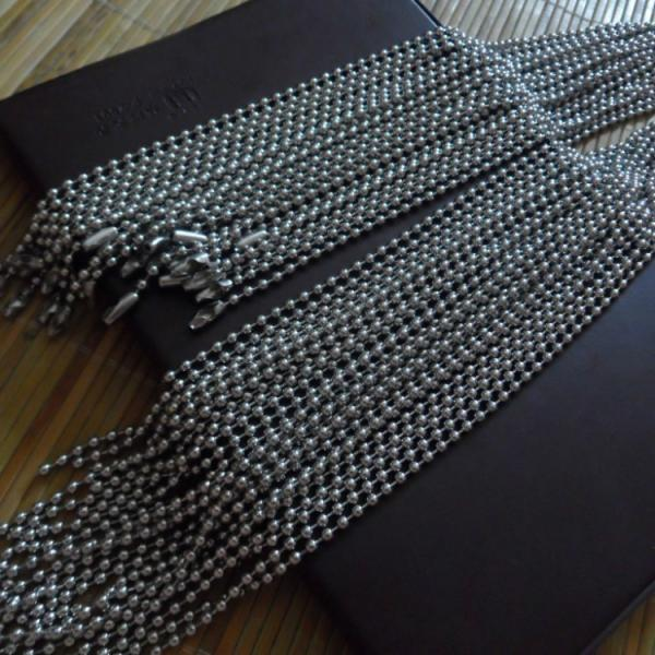 Stainless Steel Military Ball Chain 4mm