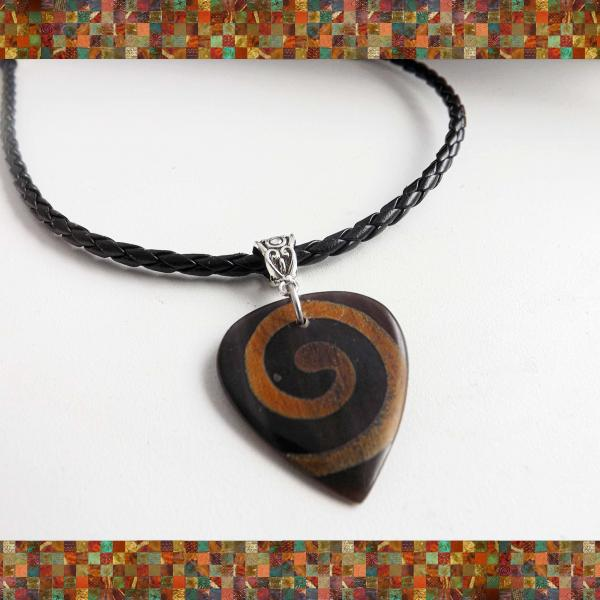 Tribal Tone Timber Guitar Pick Choker - SPECIAL EDITION Snake, Anemone or Starfi